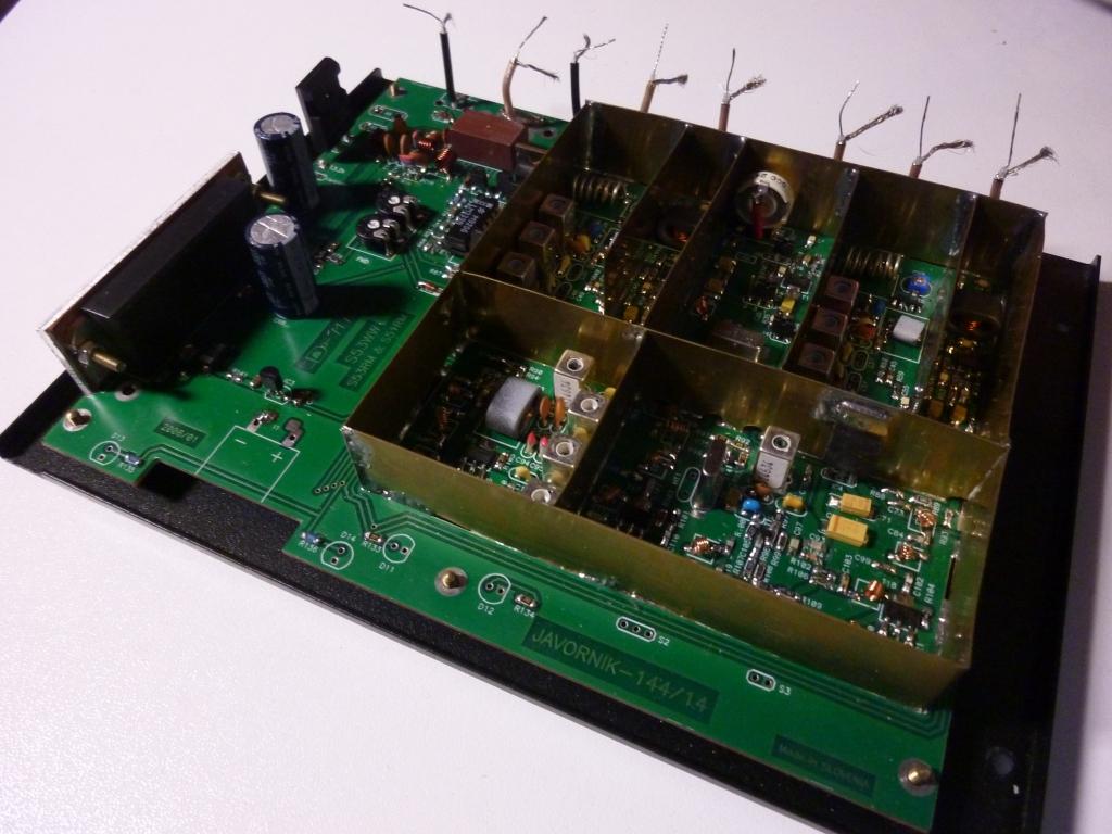Javornik 14/144MHz VHF transverter H.M. by I1KFH - still wait on air test ..