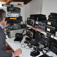 Oct.21, 2012: Meeting with Roberto, I1BPU in my shack.